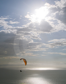 Soaring Over The Ocean Royalty Free Stock Photography - Image: 2152387
