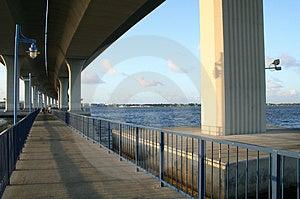 Most Nad Połowu Terenem Obrazy Stock - Obraz: 2152634