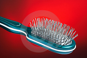 Hairbrush For Hair Royalty Free Stock Photography - Image: 2156797