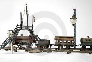 Zug, Zum Mit Zu Spielen Stockfoto - Bild: 2157080