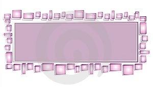 Web Page Logo Purple Squares Stock Image - Image: 2158571