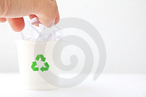 Recycle Bin Stock Images - Image: 21500804