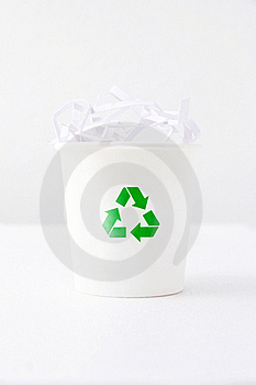 Recycle Bin Royalty Free Stock Photography - Image: 21500817