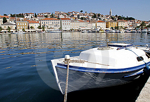 Touristic Town Royalty Free Stock Images - Image: 21506399