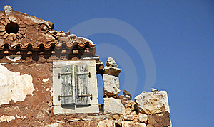 Ruin Of House Stock Photo - Image: 21509200