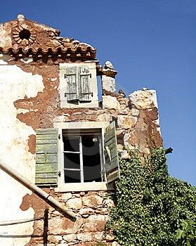 Parte della casa di rovina immagini stock immagine 21509384 for Disegni popolari della casa
