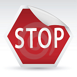 Stop Sign Stock Images - Image: 21523254