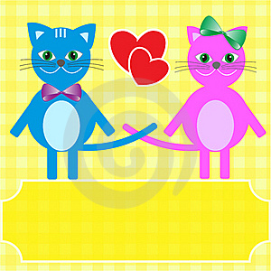 Love Cats. Stock Image - Image: 21523691