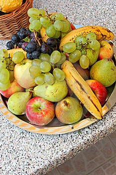 Fruit Plateau Stock Photos - Image: 21523733