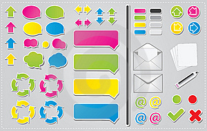 Communication Icons Stock Photography - Image: 21524472