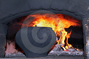 Cooking In The Oven Royalty Free Stock Images - Image: 21524829