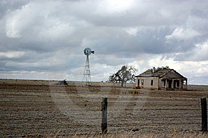 High Prairie Homestead Royalty Free Stock Photos - Image: 21524858