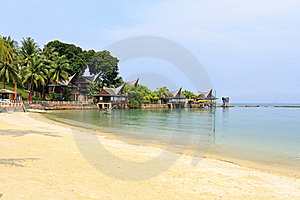 Tropical Beach Royalty Free Stock Image - Image: 21537206
