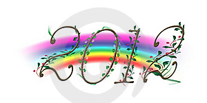 2012 New Year Royalty Free Stock Photography - Image: 21538197