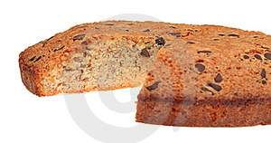 Cake With Chocolate Royalty Free Stock Photo - Image: 21538535