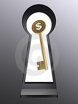 Set Des Schlüssellochs 3d Stockbilder - Bild: 21542864