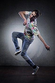 Hip Hop Dancer Royalty Free Stock Photos - Image: 21543628