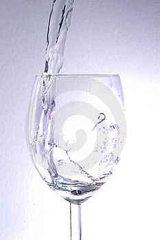 Water In A Glass Royalty Free Stock Photography - Image: 21543877
