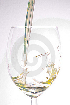 Wine In A Glass Royalty Free Stock Images - Image: 21543949