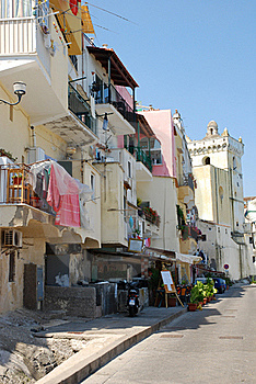 Mediterranean Architecture, Ischia Island, Italy Stock Photos - Image: 21548593