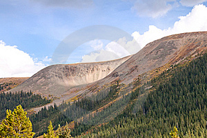 View From Independence Pass In Colorado Stock Photography - Image: 21553252