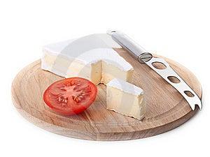 Cheese And Tomato Slice Stock Photos - Image: 21556503