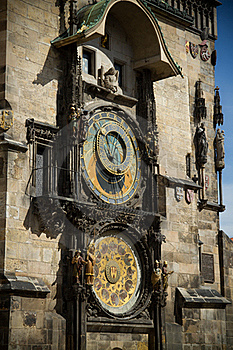 The Ancient Astronomical Clock In Prague Stock Photography - Image: 21564912