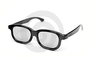 Glasses With A Black Frame Stock Photo - Image: 21572530