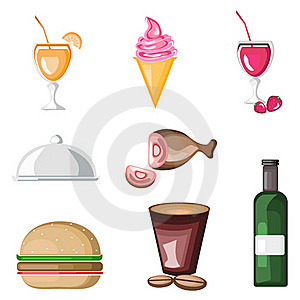 Food Icon Royalty Free Stock Photography - Image: 21573707