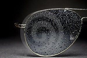 Wet Aviator Sunglasses Stock Photography - Image: 21579272