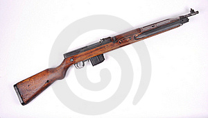 Czech Vz52 Rifle Royalty Free Stock Image - Image: 21584706