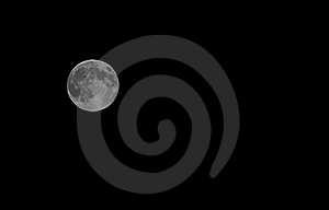 The Hunters Moon Royalty Free Stock Photos - Image: 21589758