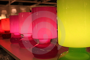 Lamps Colored Stock Photography - Image: 21597212