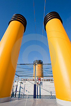 Outdoor Basketball Court On Cruise Liner Royalty Free Stock Photo - Image: 21599695