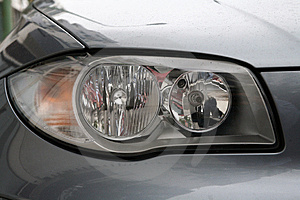 Head lights Stock Photos