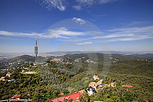 Landscape Of Barcelona Stock Photos - Image: 21603073