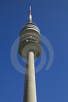 Munich Olympic Tower Royalty Free Stock Photography - Image: 21609717