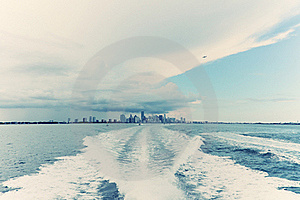 Ocean View Of Miami Royalty Free Stock Images - Image: 21614809