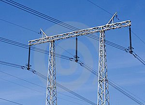 Electricity Pylon Royalty Free Stock Images - Image: 21616789