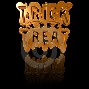 Trick Or Treat Background Royalty Free Stock Photo - Image: 21620835