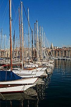 Row Of Pleasure Boats Stock Image - Image: 21621721