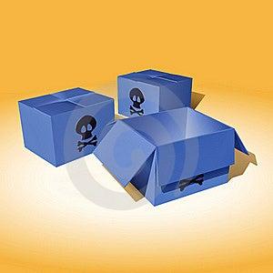 Dangerous Parcels Royalty Free Stock Image - Image: 21631536