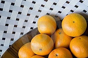 Oranges On White Background Royalty Free Stock Photography - Image: 21641667
