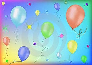 Festive Balloons Stock Photos - Image: 21651433