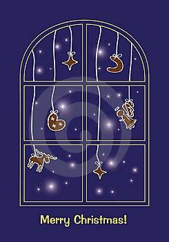Christmas Greeting Card Royalty Free Stock Image - Image: 21652836