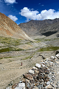 Landscape With Green Valley In Himalayas Royalty Free Stock Image - Image: 21658786