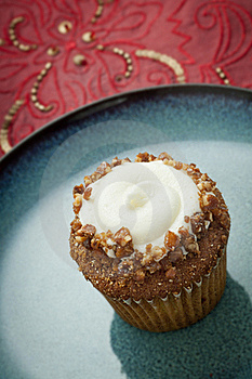 Carrot Cupcake Royalty Free Stock Images - Image: 21663019