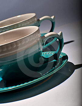 Tea Cups Stock Images - Image: 21665634