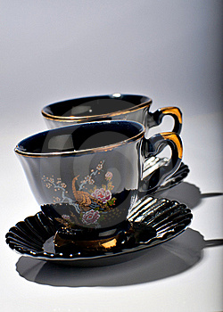 Tea Cups Royalty Free Stock Photography - Image: 21666077