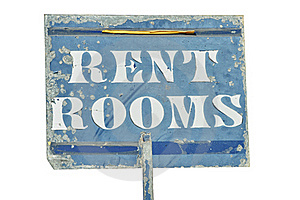 RENT ROOMS Sign Royalty Free Stock Photos - Image: 21668128